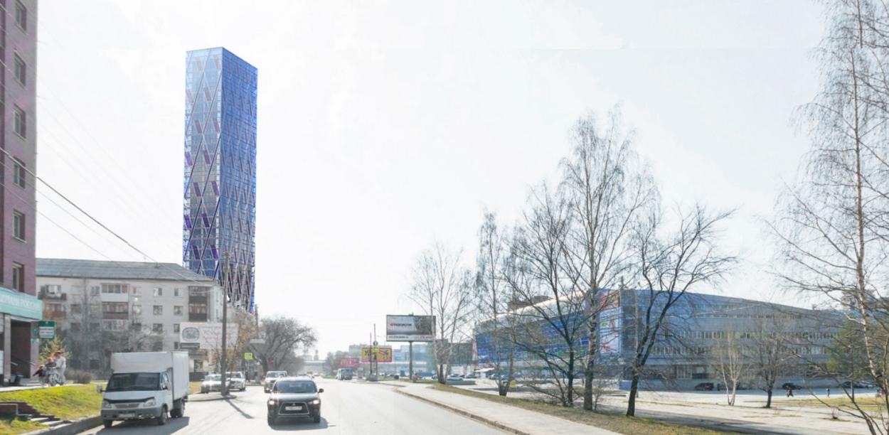 Дом-айсберг напротив КРК «Уралец» превратят в апартаменты