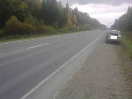 Пьяный водитель запорожца устроил ДТП на Режевском тракте