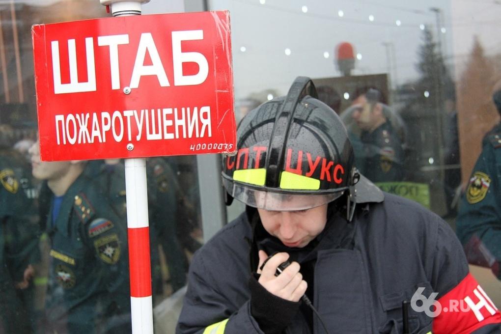 Пожар на Широкореченском кладбище повредил две могилы