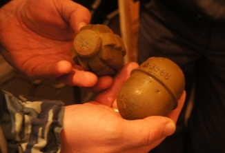 Тагильская лыжница нашла в лесу пакет с гранатами
