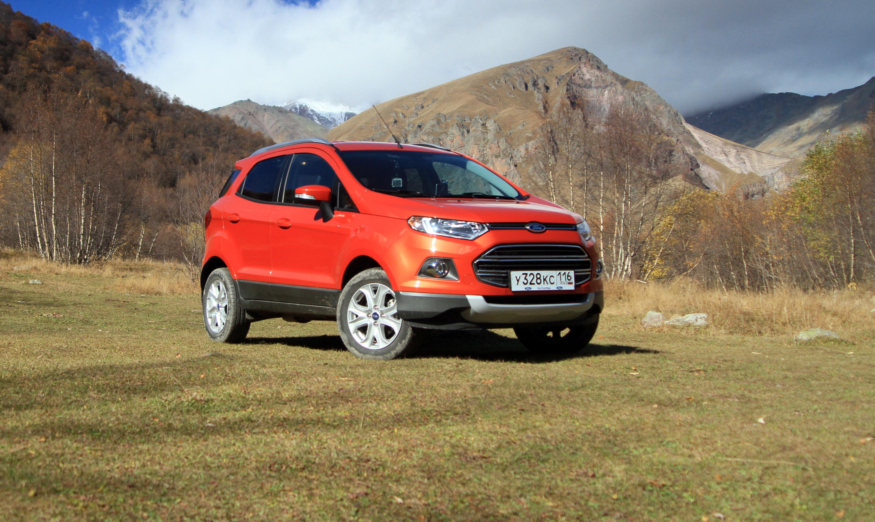 Дорога к храму: мучаем новый кроссовер Ford EcoSport горами и перевалами