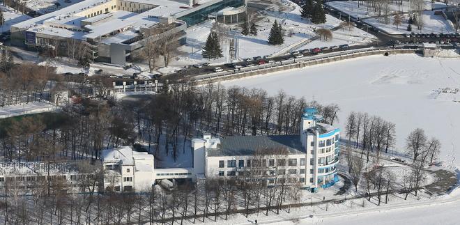 Строители храма на воде подали заявку на участок акватории Городского пруда