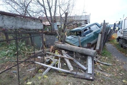 На Урале злостный нарушитель ПДД совершил пьяную аварию