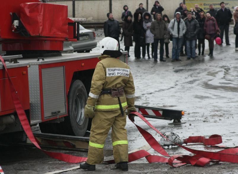 В общежитии УрФУ на Коминтерна произошел пожар
