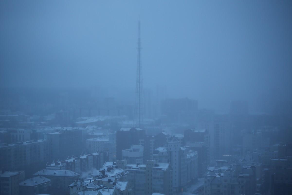 Синоптики не ошиблись: снег очистил небо над Екатеринбургом от смога