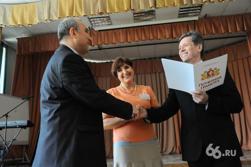 Лучшим учителем Свердловской области стал математик Эдик Петросян