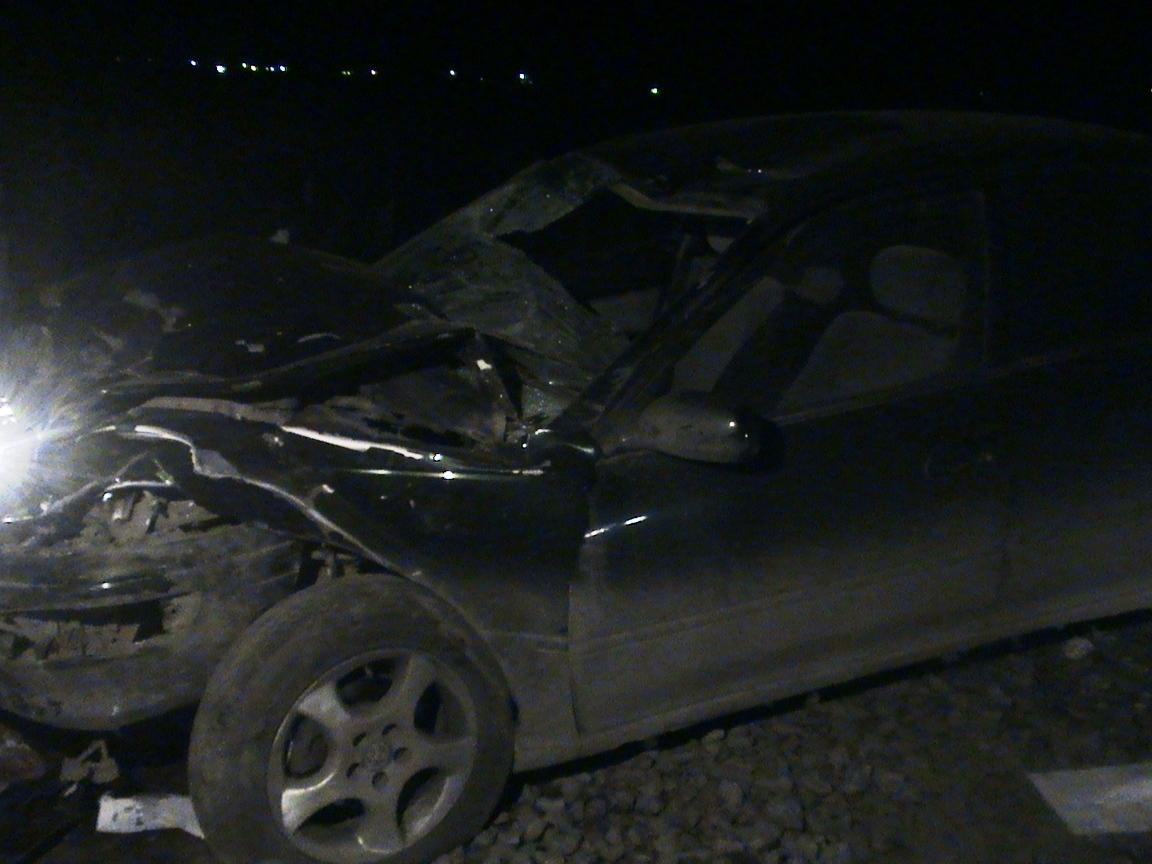 В аварии на Полевском тракте погиб водитель