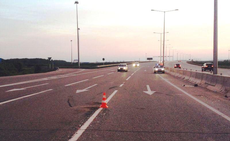 На Новокольцовской дороге в ДТП столкнулись пять автомобилей