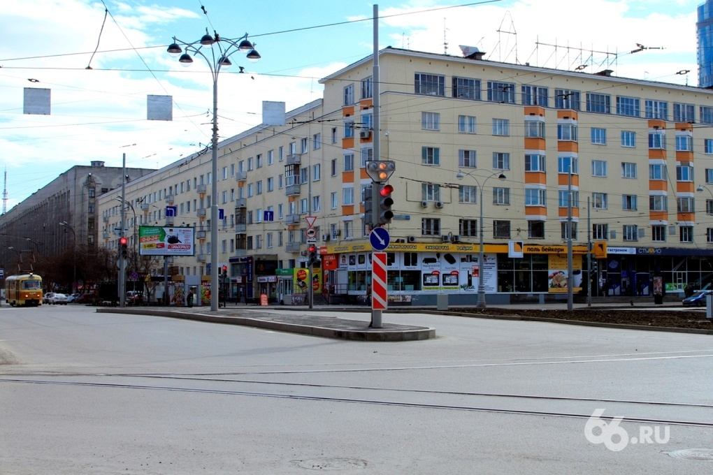 В праздничные дни центральные улицы Екатеринбурга перекроют