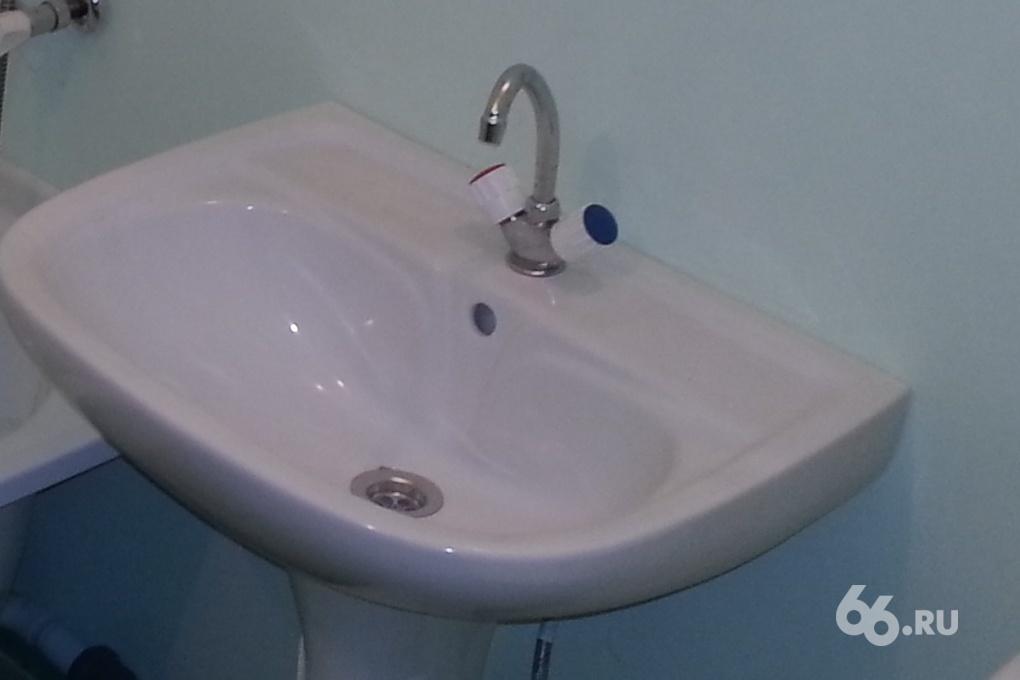 Без горячей воды в Екатеринбурге осталось 403 дома