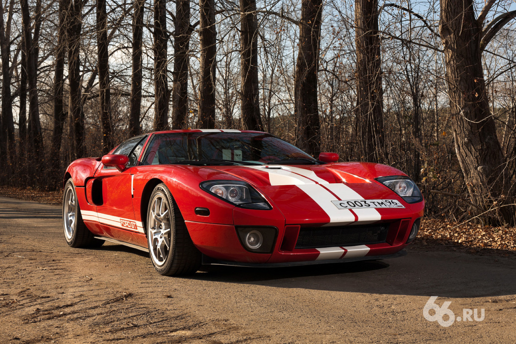 VIP-тест: Андрей Шишкин и Ford GT