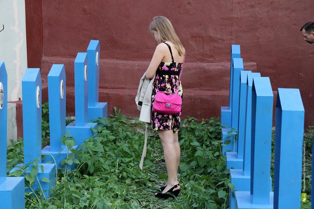 «Кладбище памятников» переедет в Харитоновский парк