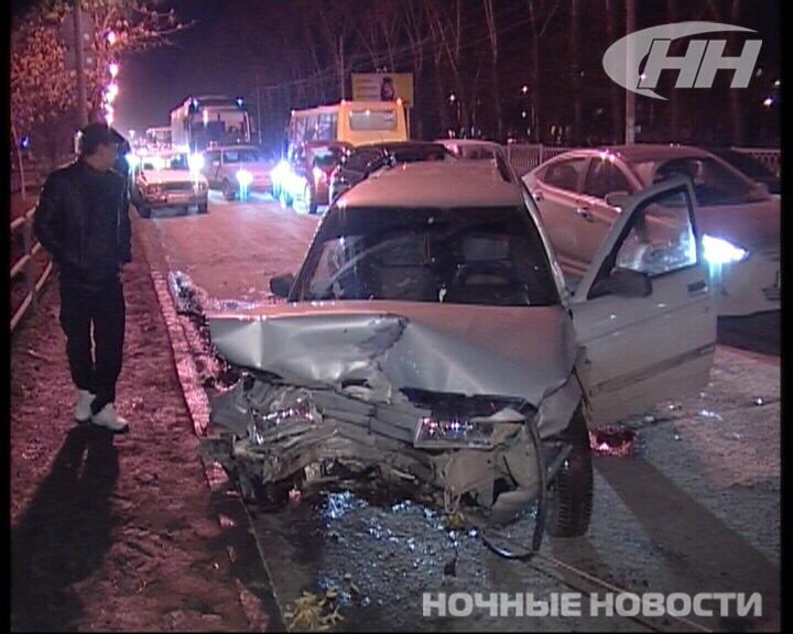 На Вторчермете столкнулись четыре автомобиля