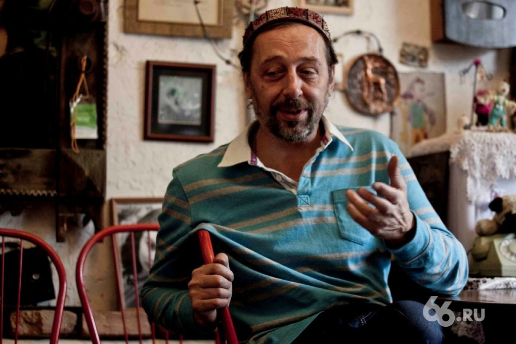 Коляда стал героем документального фильма о Екатеринбурге