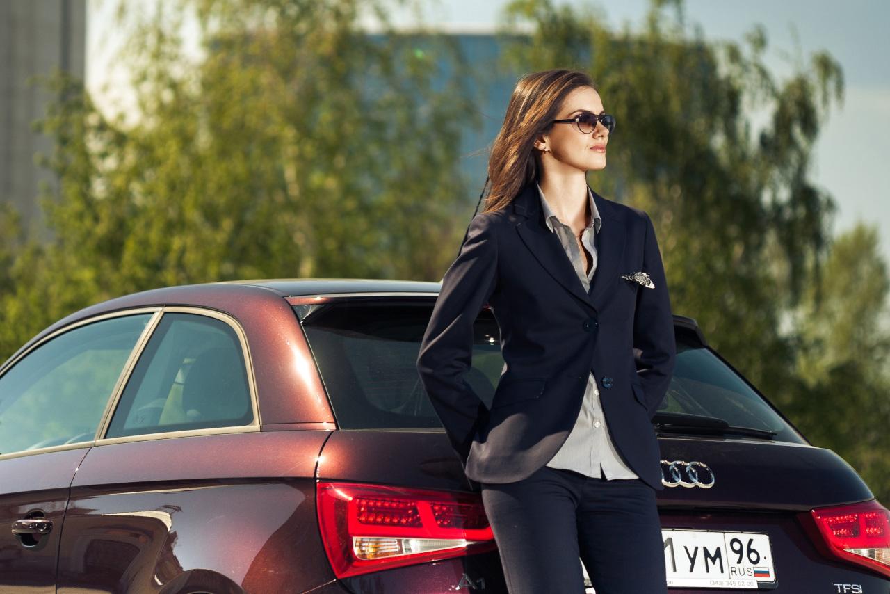 VIP-тест: честно о страховках. Татьяна Нефёдова и Audi A1
