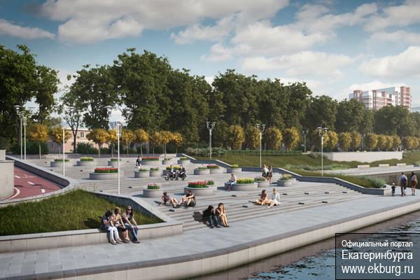 Велодорожка, детская площадка и место встреч: ждите новую набережную Городского пруда