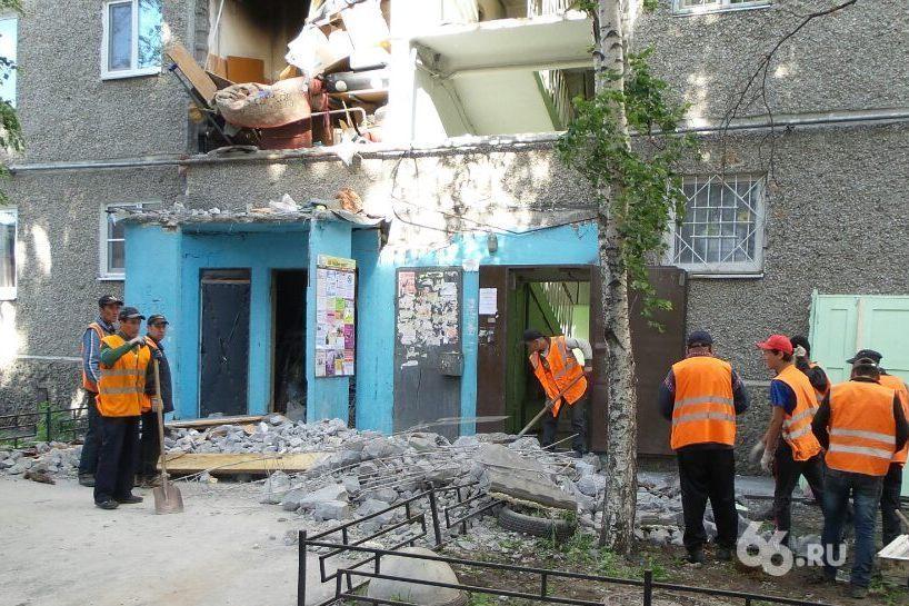 Остались без дома: после взрыва на Сыромолотова стены здания пошли трещинами