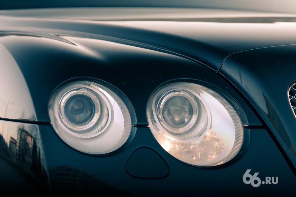 VIP-тест: Денис Афанасьев и Bentley Continental GT