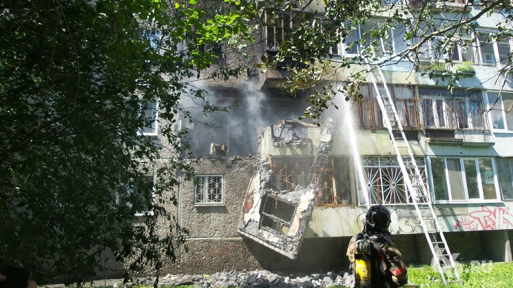 Взрыв на Сыромолотова: дом остался без стены