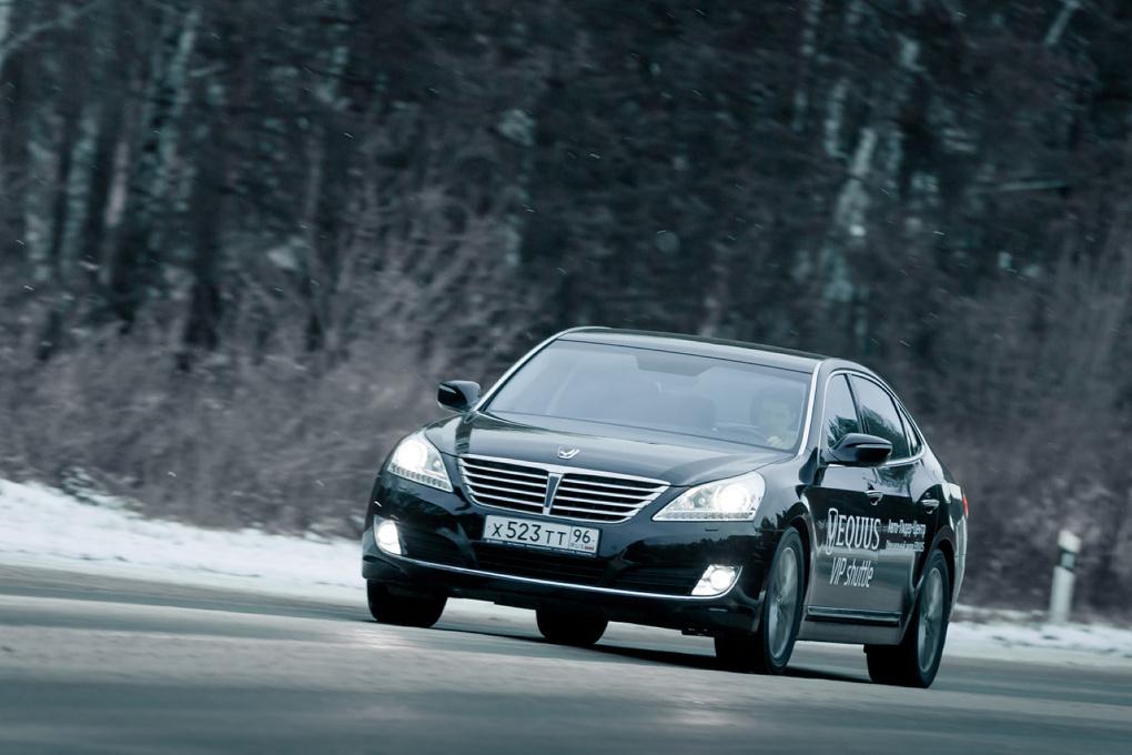 Вороной масти: тестируем обновленный Hyundai Equus