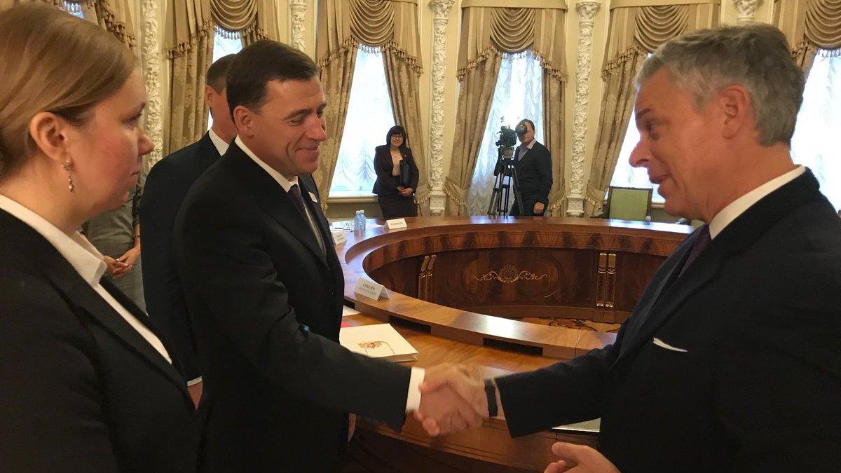 Свердловский губернатор Евгений Куйвашев встретится спослом США в РФ Джоном Хантсманом
