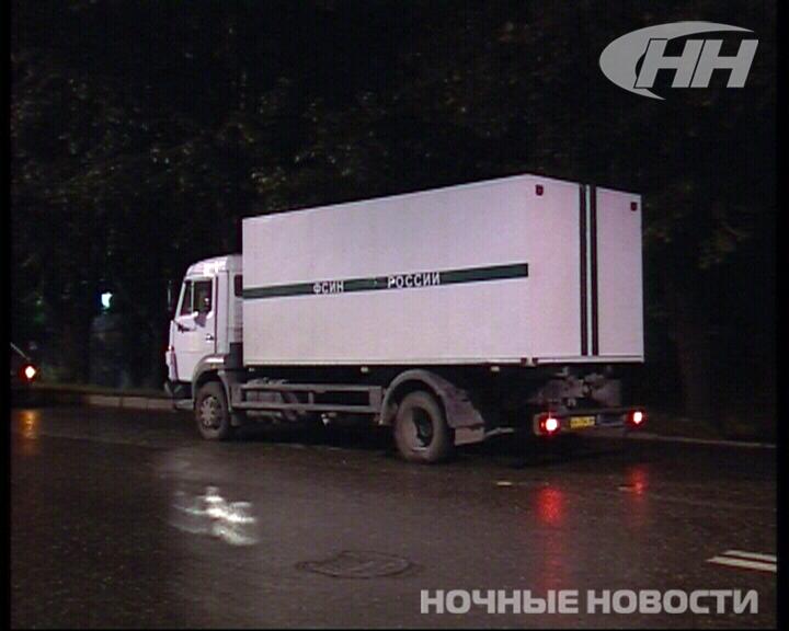 КамАЗ ГУФСИН попал в аварию на Московской