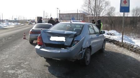 В аварии на трассе пострадал 9-месячный ребенок