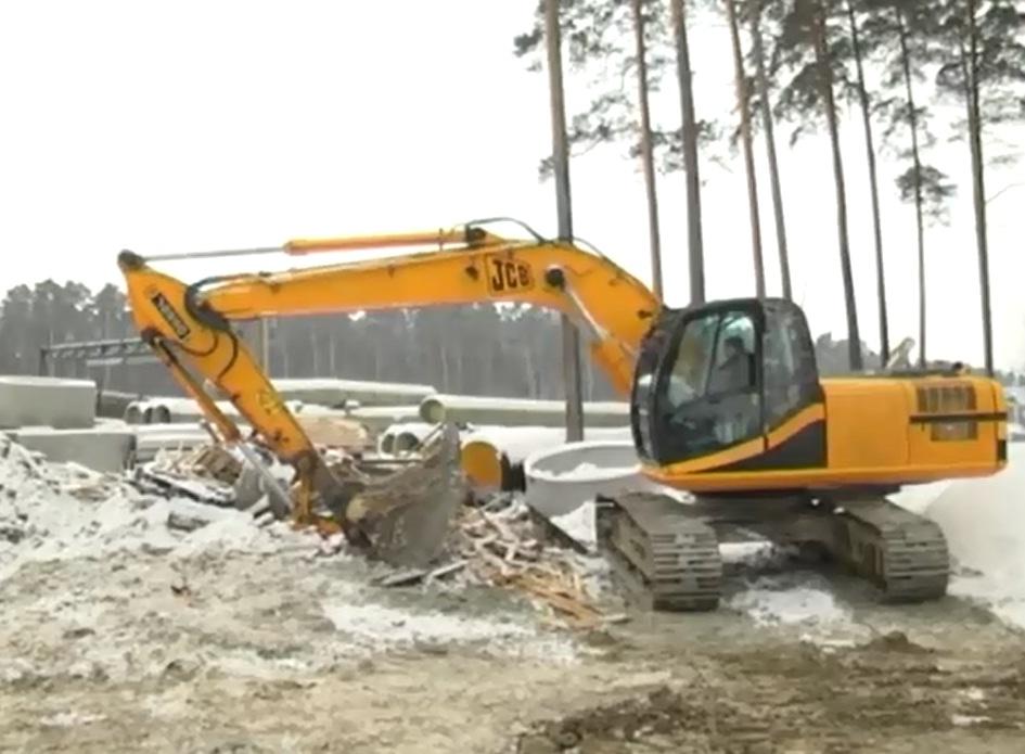 Развязку на Московской продолжат строить даже в морозы