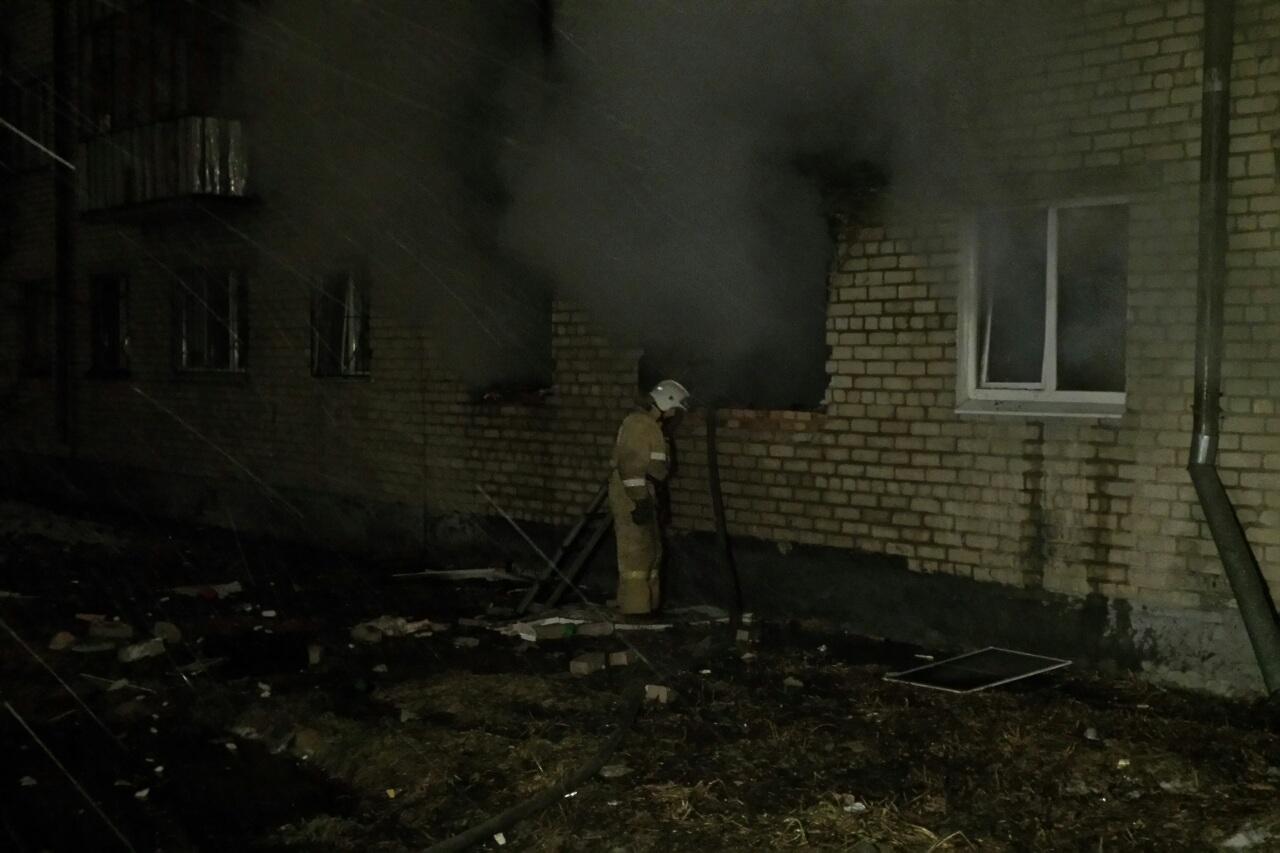 На Заводской взорвалась квартира. Серьезно пострадали двое стариков