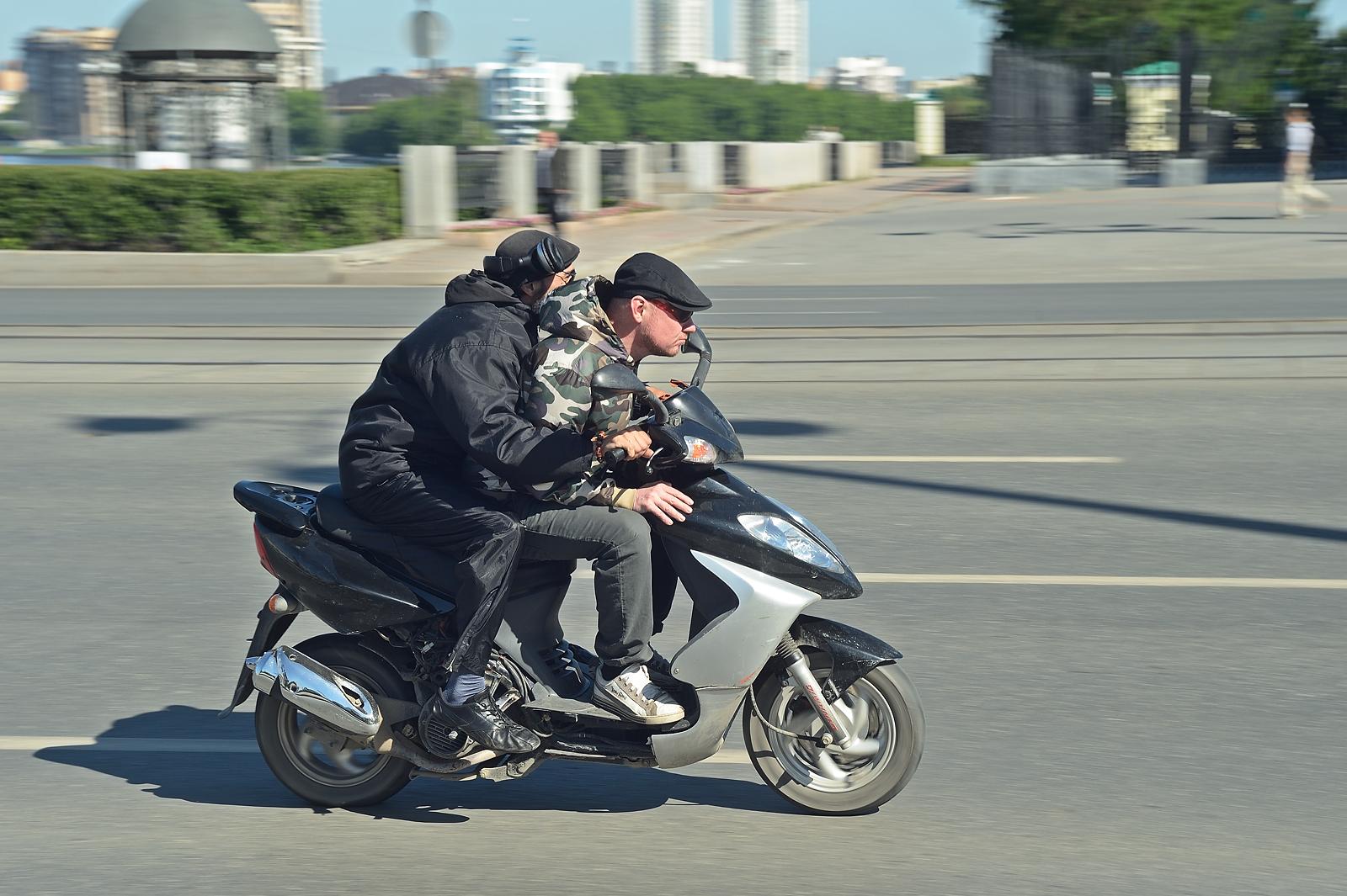 Свердловская Госавтоинспекция: с начала года байкеры нарушили ПДД 4000 раз