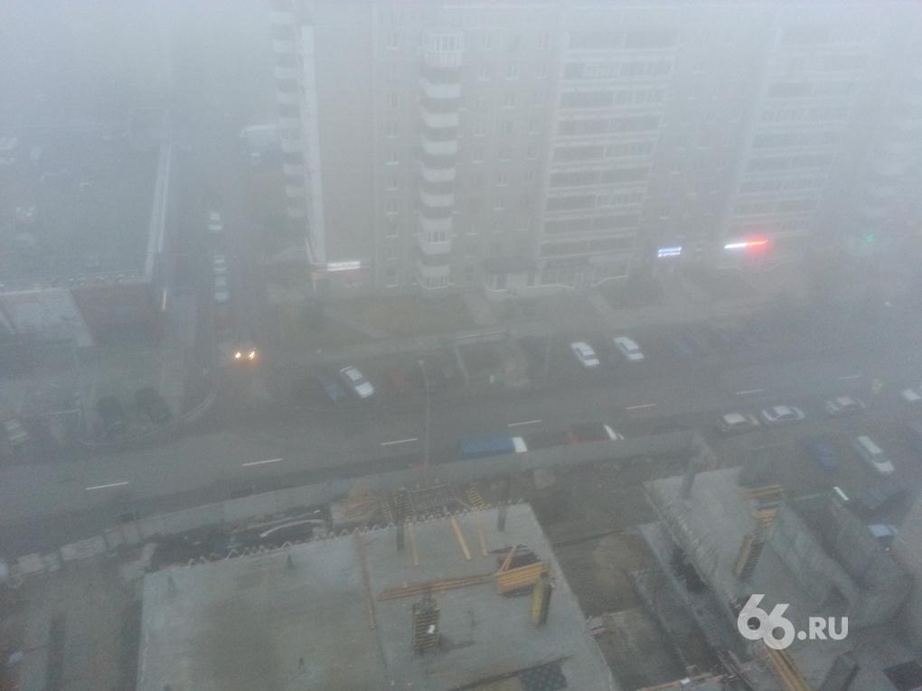 Из-за сильнейшего тумана в Кольцово задерживаются большинство рейсов