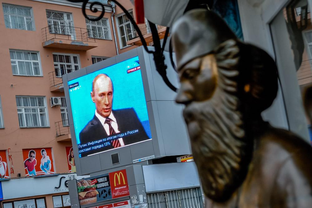 Владимир Путин: государство не вмешивается в работу СМИ