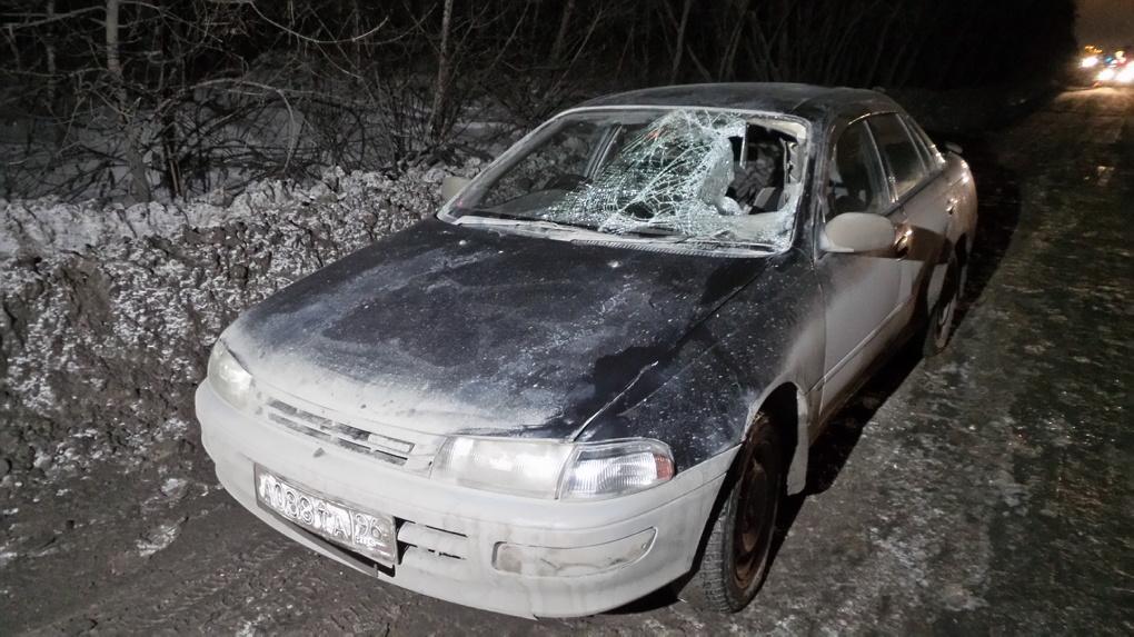 На дублере Сибирского тракта молодой человек угодил под колеса Toyota
