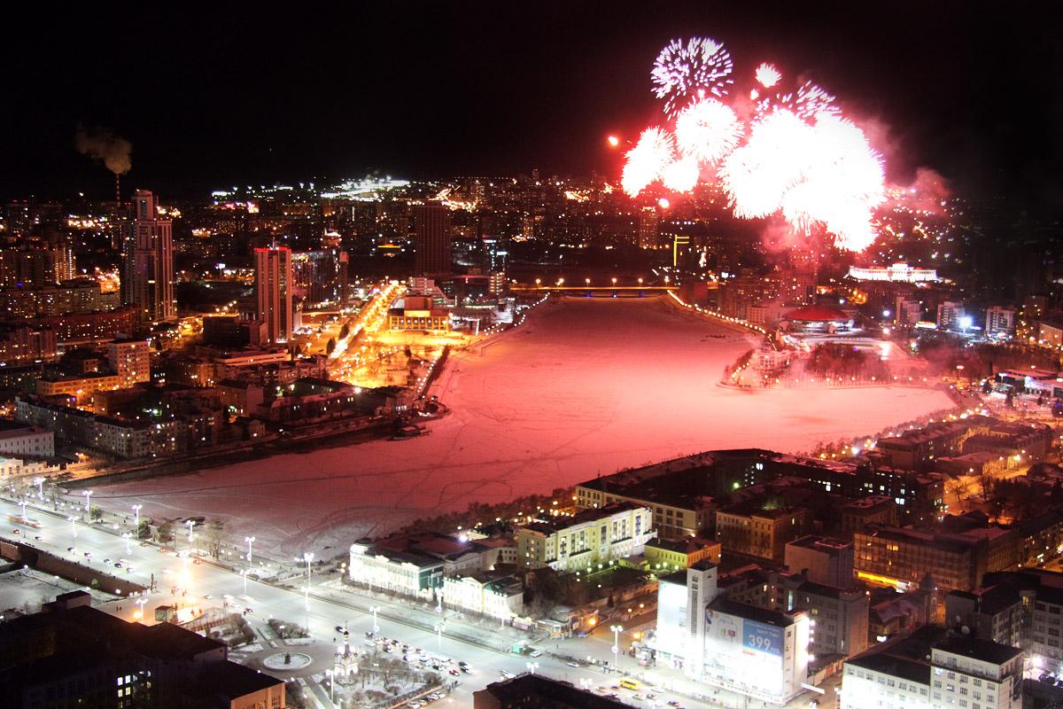 Новый год без огонька: екатеринбуржцы отказываются в праздники от салютов
