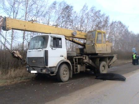 На Полевском тракте МАЗ сбил пенсионера