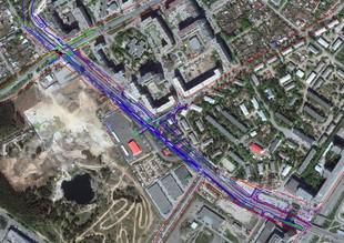 Четыре полосы и современные тротуары: в этом году окончательно выпрямят Волгоградскую