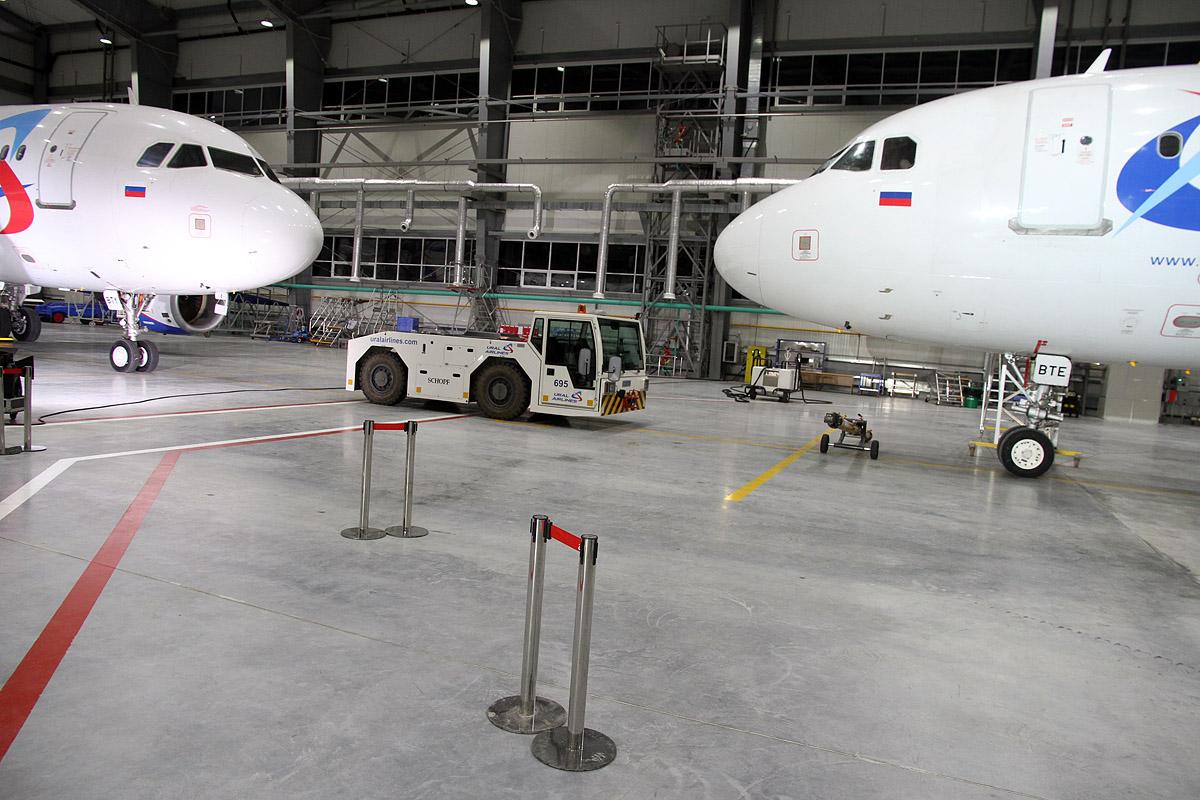 В Кольцово построили ремонтный цех для самолетов за 25 млн долларов