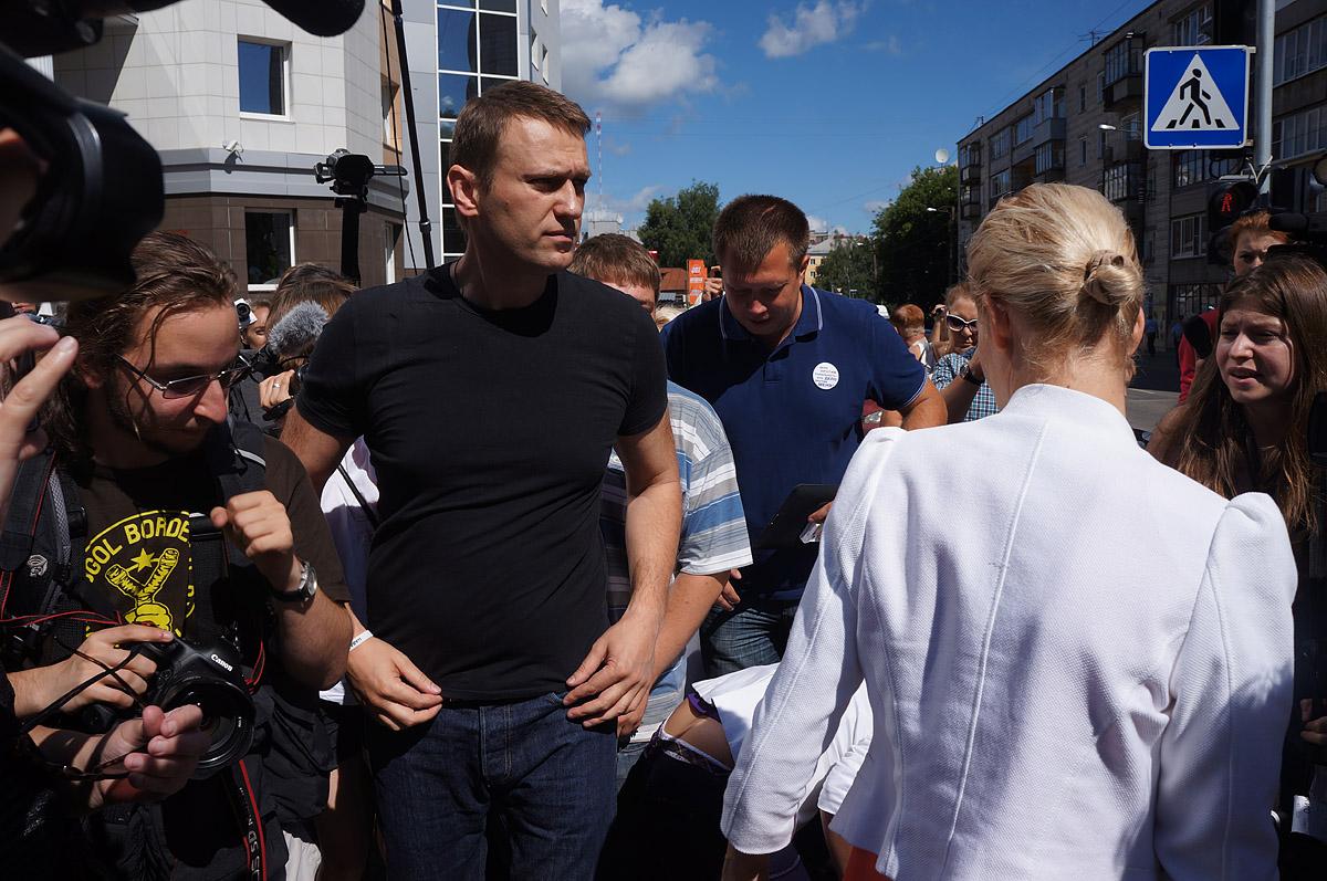 Запланированная на сегодня акция в поддержку Навального отменена