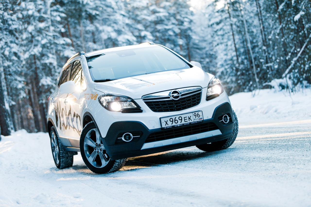 Opel Mokka: глоток горяченького