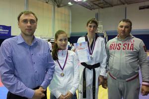 Екатеринбургские тхэквондисты завоевали две медали на чемпионате УрФО
