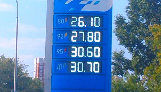 Мониторинг 66.ru: бензин подорожал еще резче и сильнее