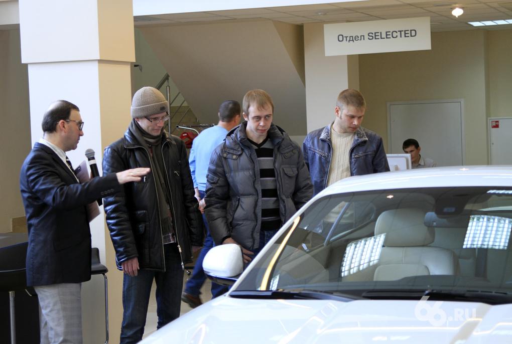Свердловчане за квартал потратили на новые машины 615 млн у.е