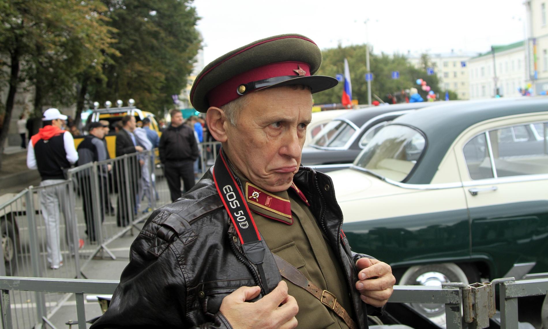 Ралли олдтаймеров: в бой пошли одни старики