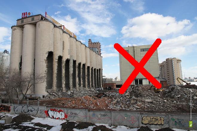 Взрыва не будет: Мукомольный завод спас снегопад
