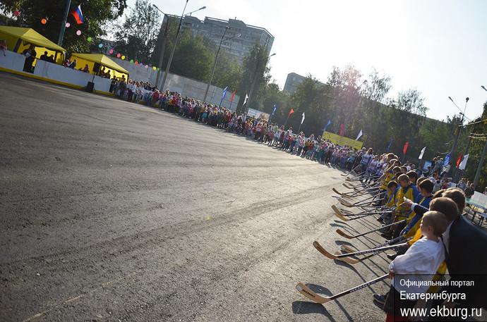Отремонтированный хоккейный корт открылся на Сортировке