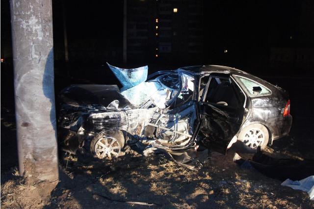 В ночных ДТП в Свердловской области погибли два человека