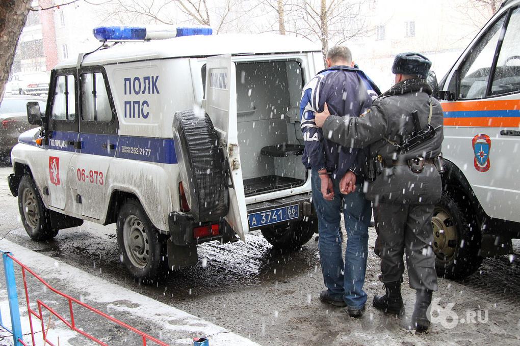 В отделении полиции Екатеринбурга повесился задержанный