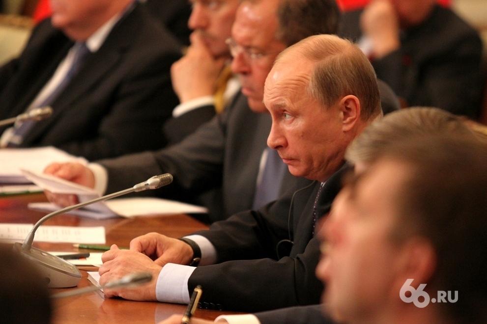 Путин готов включить главу о присоединении Крыма в новый учебник истории