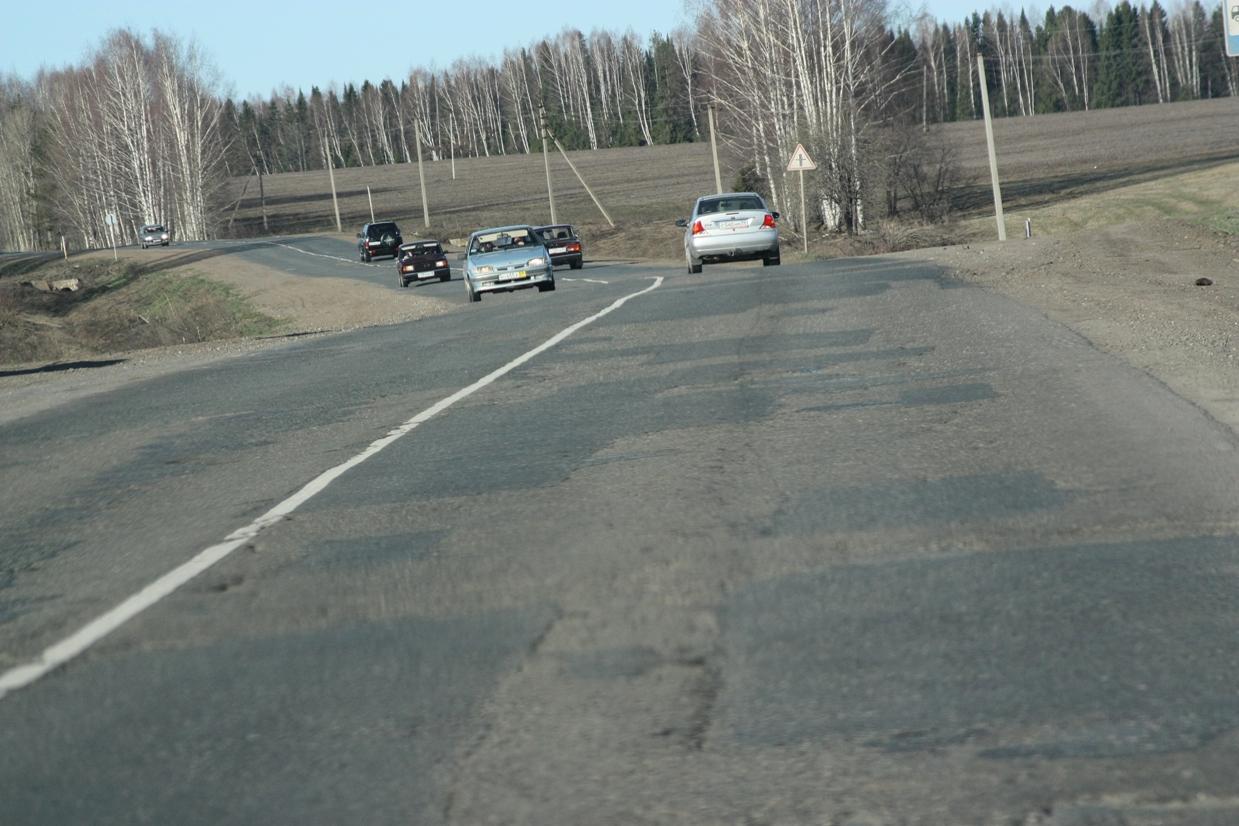 Свердловская область оказалась в середине списка безопасных дорог России