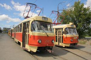 В Екатеринбурге 4 трамвая изменят маршруты на несколько дней